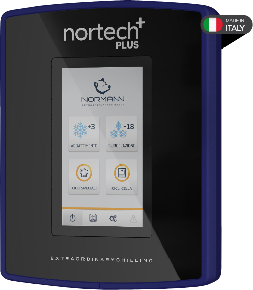 Nortech app and touch-screen